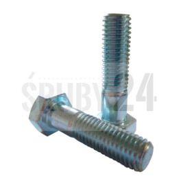 Śruba z łbem sześciokątnym DIN 931 kl. 8.8 ocynk galwaniczny M4-M27