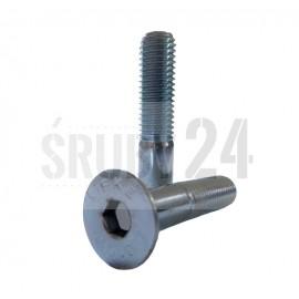 Śruba z łbem stożkowym ISO 10642 NG kl. 010.9 ocynk galwaniczny