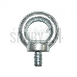 Śruba z uchem DIN 580,ISO 3266 C15 Ocynk Galwaniczny M6-M22