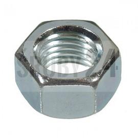 Nakrętka sześciokątna drobnozwojna lewozwojna DIN 934 kl.8 ocynk galwaniczny