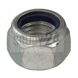 Nakrętka sześciokątna samozabezpieczająca z wkładką DIN 985 kl.10 ocynk płatkowy