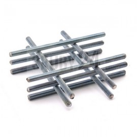 Pręt z gwintem metrycznym drobnozwojnym 1000 mm DIN 976 kl.8.8 ocynk galwaniczny