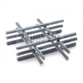 Pręt gwintowany 1000 mm DIN 976 kl.4.8 ocynk galwaniczny M27-M72