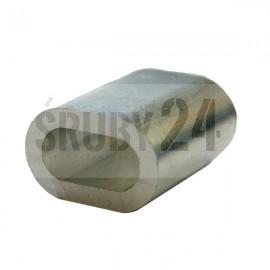 Tuleja zaciskowa DIN 3093 aluminium O7-O16