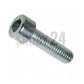 Śruba z łbem walcowym ISO 4762,DIN 912 PG kl.8.8 ocynk galwaniczny M1,6-M16