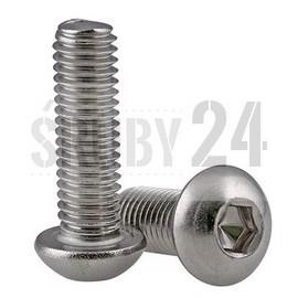 Śruba z łbem wypukłym ISO 7380-1 PG kl.010.9 ocynk galwaniczny