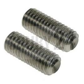 Śruba ISO 4029,DIN 916 kl.45H Ocynk Galwaniczny