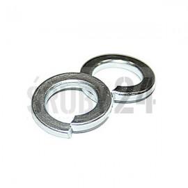 Podkładka okrągła sprężysta DIN 127B ocynk galwaniczny M2,1-M10,2