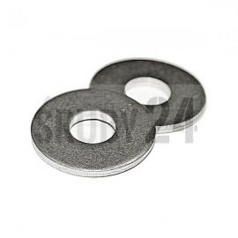 Podkładka okrągła płaska powiększona DIN 9021 stal nierdzewna M3,2-M10,5