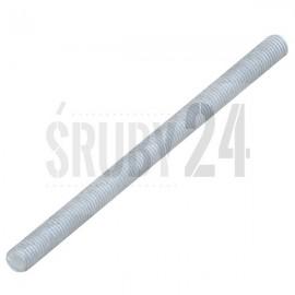 Pręt z gwintem metrycznym 1000 mm DIN 976 kl.8.8U ocynk ogniowy