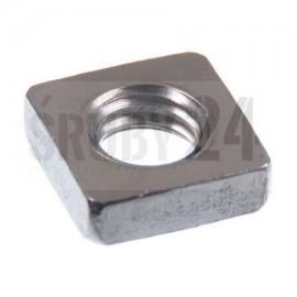 Nakrętka kwadratowa DIN 562 kl.4 GAL ZN