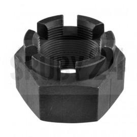 Nakrętka koronowa DIN 935 Bez Pokrycia M22-M48