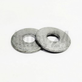 Podkładka okrągła płaska powiększona 200HV DIN 9021 ocynk płatkowy M3,2-M7,4