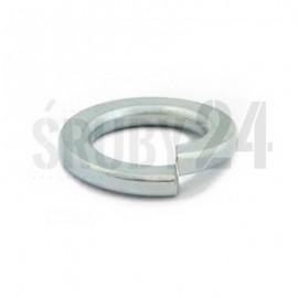 Podkładka okrągła sprężysta DIN 127B ocynk płatkowy M2,1-M10,2