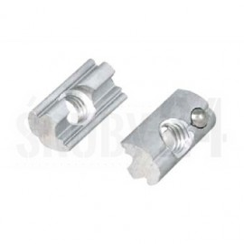 Wpust przesuwny Aluminium/A2