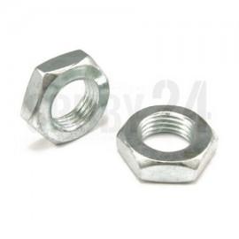 Nakrętka drobnozwojna DIN 439 kl.04 Ocynk Galwaniczny M24-M48