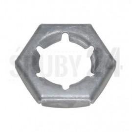 Nakrętka zabezpieczająca blaszkowa DIN 7967 M5-M24 Ocynk Ogniowy