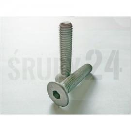 Śruba ISO 10642 PG kl.010.9 Ocynk Płatkowy