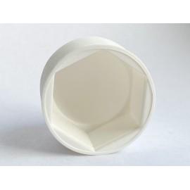 Osłona kołpakowa biała Polietylen