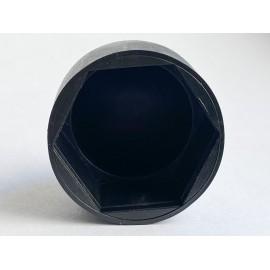 Osłona kołpakowa czarna Polietylen