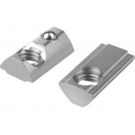 Nakrętka z hamulcem do profili aluminiowych Ocynk Galwaniczny