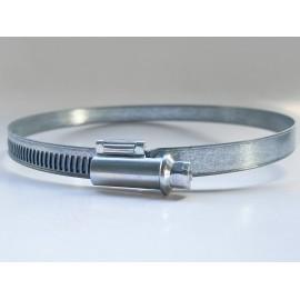 Opaska zaciskowa ślimakowa DIN 3017 AL Ocynk Galwaniczny 70-180