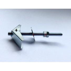 Kołki rozporowe sprężyste metalowe, do płyt gipsowych z trzpieniem Ocynk Galwaniczny