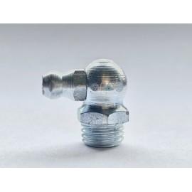 Smarowniczki z główką stożkową, kątowe 90° DIN 71412 C GAL ZN M5-M8