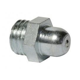 Smarowniczka z główką zaokrągloną, z gwintem DIN 3402 Ocynk Galwaniczny (180°)