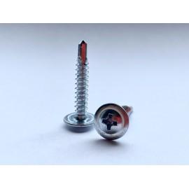 Wkręt samowiercący z łbem podkładkowym DIN 7504T Ocynk Galwaniczny (Ph)
