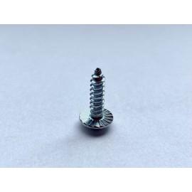 Wkręt samogwintujący z łbem podkładkowym ząbkowanym DIN 968C Ocynk Galwaniczny Combi (H+R)