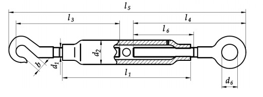 Śruba DIN 1478 hak-oko Ocynk Galwaniczny