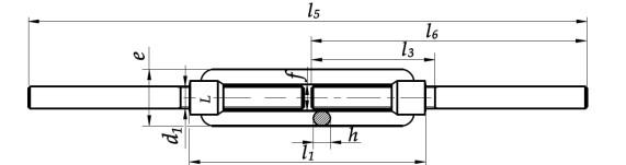 Śruba DIN 1480 do spaw. Ocynk Galwaniczny M30-M56
