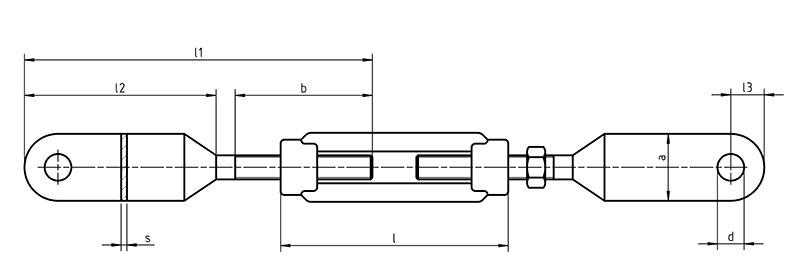 Śruba DIN 1480 up-up. Ocynk Galwaniczny M16-M27