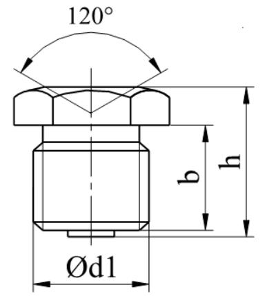 Smarowniczka wklęsła z gwintem DIN 3405 Ocynk Galwaniczny 180°