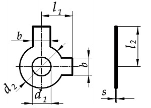 Podkładka DIN 463 Ocynk Galwaniczny M20-M36