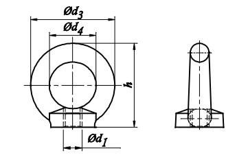 Nakrętka DIN 582 C15 Ocynk Ogniowy