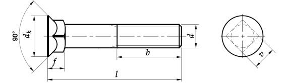 Śruba płużna DIN 608 NG kl.10.9 BP