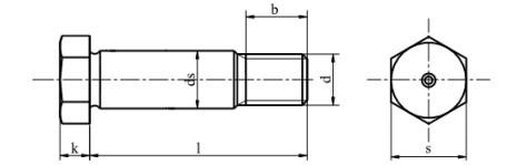 Śruba DIN 610,PN 82341 kl.8.8 Bez Pokrycia M8-M27