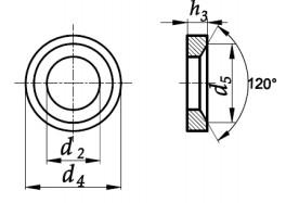 Podkładka DIN 6319D bez pokrycia M6-M42