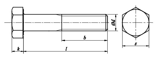 Śruba DIN 931 kl.12.9 Ocynk Płatkowy