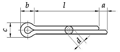 Zawleczka DIN 94 Stal Kwasoodporna A4 1,0-10,0