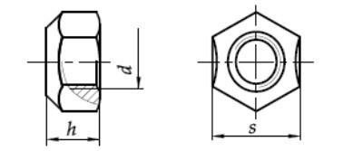 Nakrętka DIN 980 v Ocynk Płatkowy KL.10