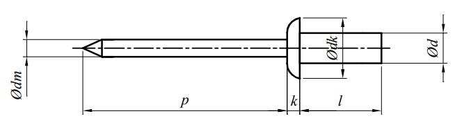 Nit ISO 16585 Stal Nierdzewna A2/C1(A2)