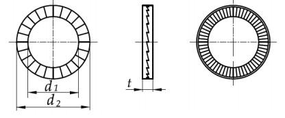 Podkładka Nord-Lock Stal Kwasoodporna A4 M3 - M16