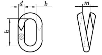 Ogniwo-spinka Ocynk Galwaniczny