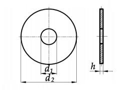 Podkładka karoseryjna Ocynk Galwaniczny