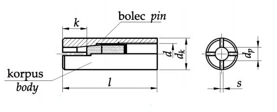 Kotwa z gwintem wewnętrznym Ocynk Galwaniczny
