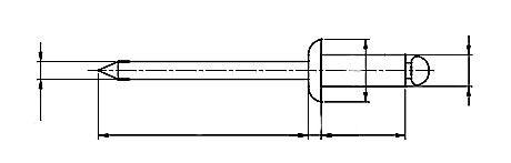 Nit ISO 16582 Miedź/Brąz (NM)