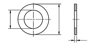 Podkładka 200HV DIN 125A TZN M54-M98